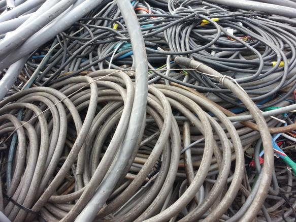 Oude kabels inleveren